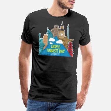 Tourism tourism - Men's Premium T-Shirt