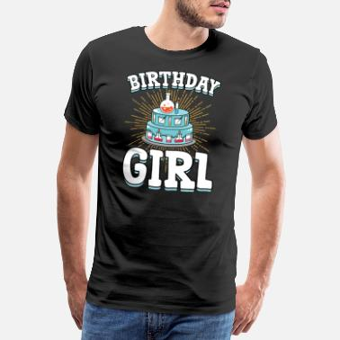 Esposa Loca STEM Mad Science Birthday Party Shirt Cumpleaños - Camiseta premium hombre