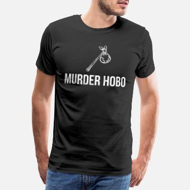 Assassinats Assassinat Hobo RPG Gamer Geek Campagne TShirt - T-shirt premium Homme