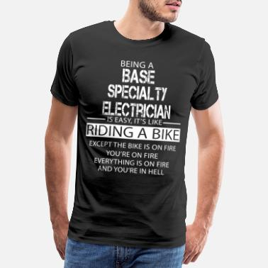 Specialty Base Specialty Electrician - Men's Premium T-Shirt