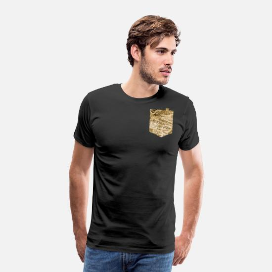 Gift Idea T-Shirts - Senior - Men's Premium T-Shirt black