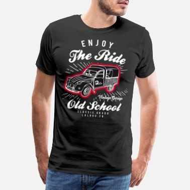 2cv T-shirt Enjoy The Ride 2cv AK400 - T-shirt premium Homme