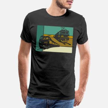 Chemin Chemin de fer | Conducteur de train conducteur de train - T-shirt premium Homme
