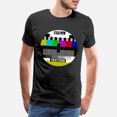 Tv Still Testing Test Image test screen - Men's Premium T-Shirt