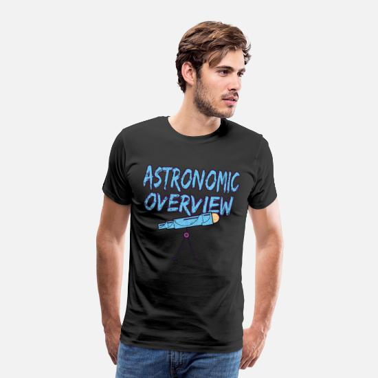 Gift Idea T-Shirts - Astronaut astronomy space gift 14th - Men's Premium T-Shirt black