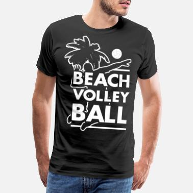 Beachvolleyball Regalo sportivo di beach volleyball volley - Maglietta premium uomo