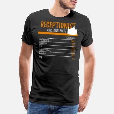 82fe565fcd93c Ingrédients de la réceptionniste - T-shirt premium Homme