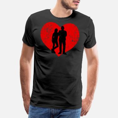 Marie I Love Husbands - Männer Premium T-Shirt