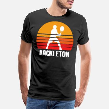 Bleu Rackleton Sunset - T-shirt premium Homme