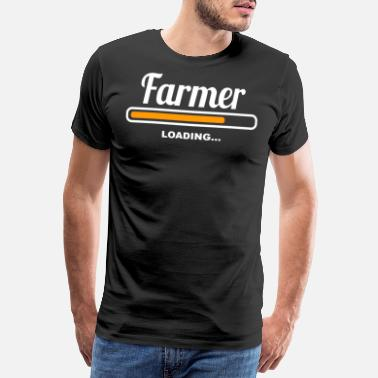 Job Farmer Loading - Männer Premium T-Shirt