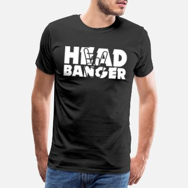 Headbanging Headbanger - Men's Premium T-Shirt