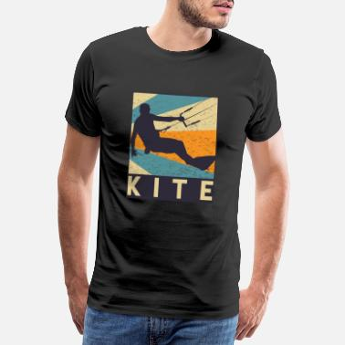 Kite Surfers kitesurfing - Men's Premium T-Shirt
