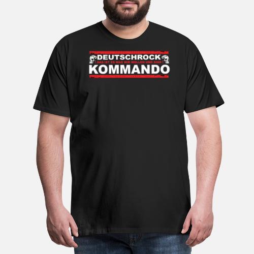 e8b49a80f581 DEUTSCHROCK KOMMANDO Männer Premium T-Shirt   Spreadshirt