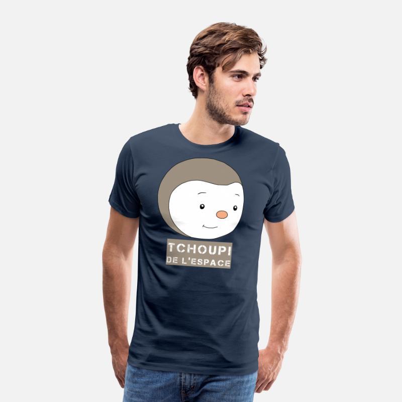 L'espaceT Homme Premium Shirt Bleu De Tchoupi Marine LqSVMpzUG
