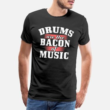Musical Drum music instrument - Men's Premium T-Shirt