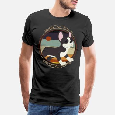 Boston Boston Terrier, Boston Terrier Animal Lovers, Boston - Men's Premium T-Shirt