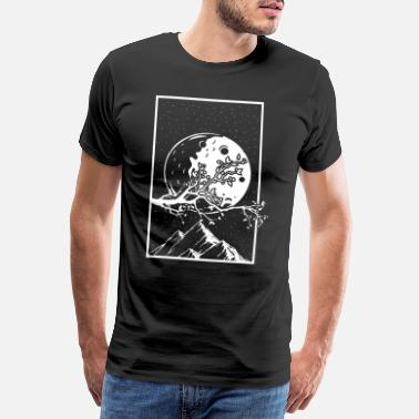 Community Bitcoin To The Moon Digital hodl FUN Gift Idea - Men's Premium T-Shirt