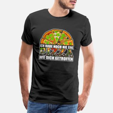 Mets I have never met a pizza like you - Men's Premium T-Shirt