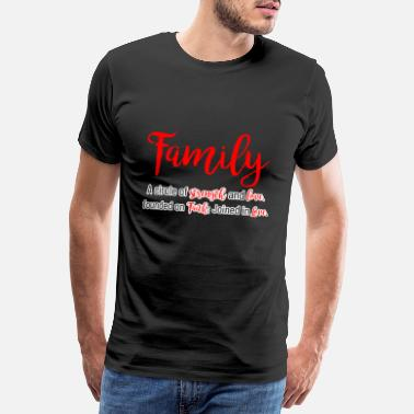 Family Values Family values - Men's Premium T-Shirt