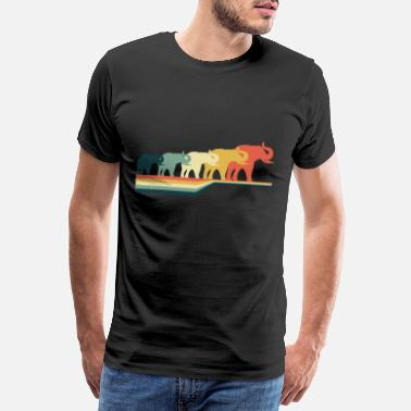 Circus Elephant zoo - Men's Premium T-Shirt