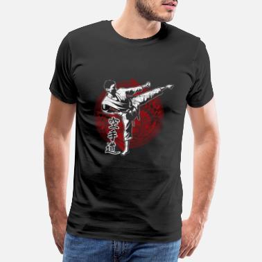 Cinturones Karate artes marciales - Camiseta premium hombre a1c0e6f28066