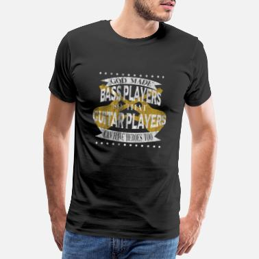 Guitarist Bass guitar god - Men's Premium T-Shirt