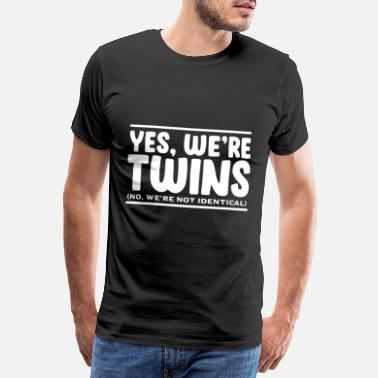 Childhood Twins - Men's Premium T-Shirt