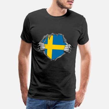 Stockholm Sweden nationality - Men's Premium T-Shirt