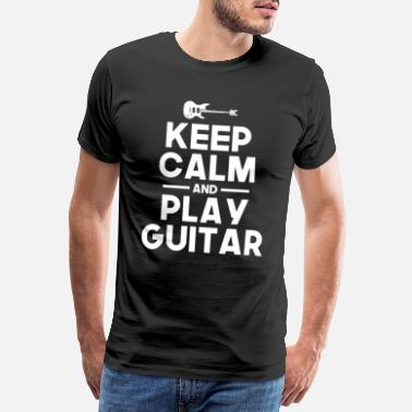 Rock And Roll Guitar hobby - Men's Premium T-Shirt