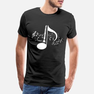Orchestra clarinet - Men's Premium T-Shirt