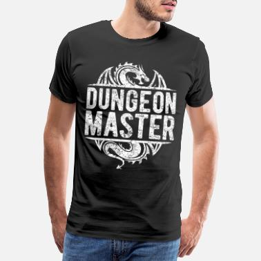 Dm DUNGEON MASTER DM board game funny gift - Men's Premium T-Shirt