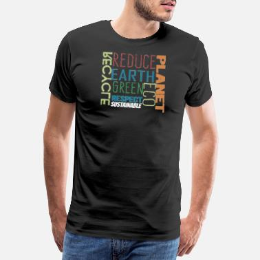 Sustainable sustainability - Men's Premium T-Shirt