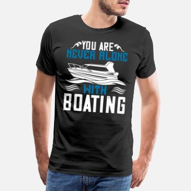 Rowing Boating - Fun on the water - 50 - Men's Premium T-Shirt