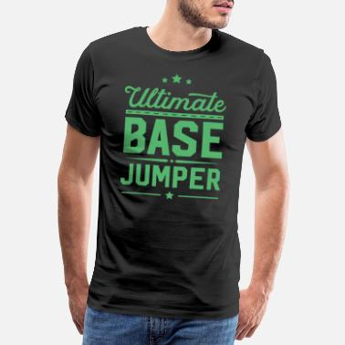 Parachute Base Jumper - Men's Premium T-Shirt