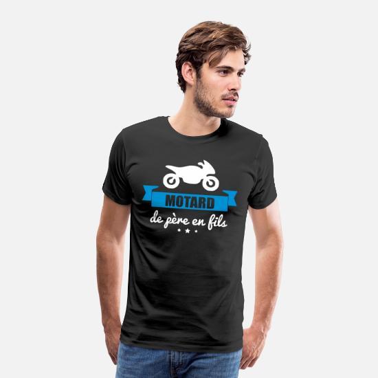 Motard de père en fils, cadeau moto, motard T shirt Bébé