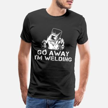 Mag welder - Men's Premium T-Shirt