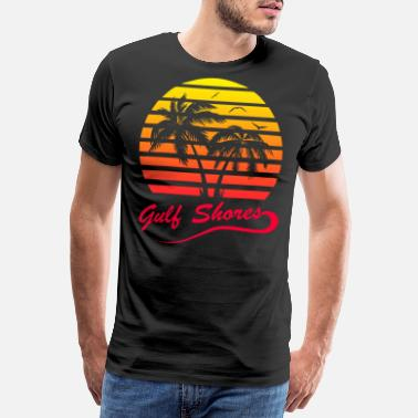 Beach Holiday Gulf Shores - Men's Premium T-Shirt