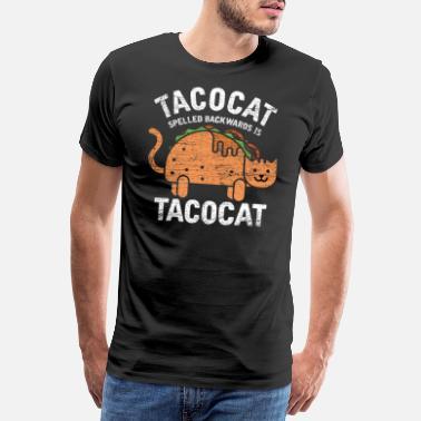 9f513945 Funny Taco cat hangover gift idea vintage - Men's Premium ...