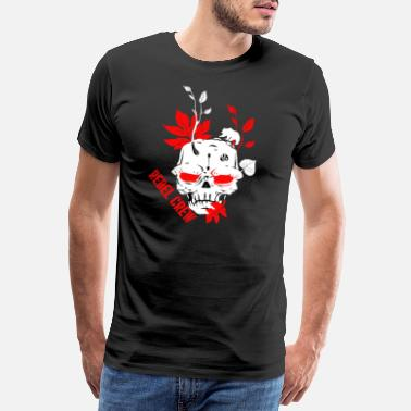 Motorcycle Logo Rebel Crew Nature - Men's Premium T-Shirt