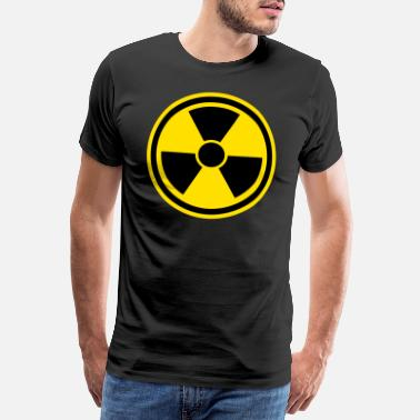 Relateret Advarselstegn Nuclear - Premium T-shirt mænd