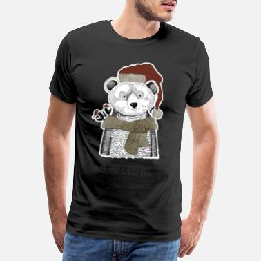 Christmas Collection Christmas Bear - Camiseta premium hombre