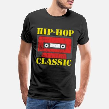 Old School Hip Hop Regalo classico old school hip-hop - Maglietta premium uomo