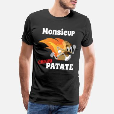 Patate Monsieur chaud Patate - T-shirt premium Homme