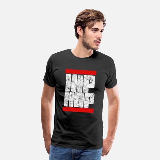 Hip Hop T skjorte med hette for barn gutter Man Premium T