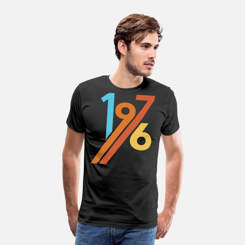 1976 T-Shirts - 1976 - Men's Premium T-Shirt black