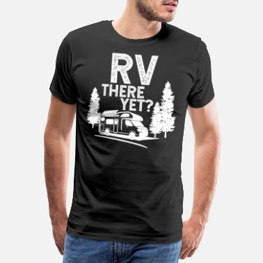 Campground Camping tents gift motorhome mountain - Men's Premium T-Shirt