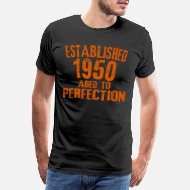 Birth Year The birth year gift 1950 birthday shirt - Men's Premium T-Shirt