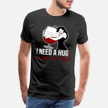 Hugo Wine - Men's Premium T-Shirt