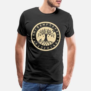 Flock Nordic Rune Vikings Germania Germanic - Men's Premium T-Shirt