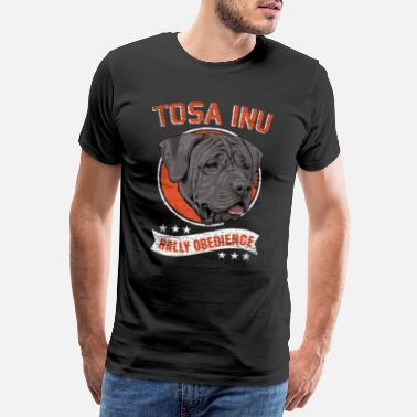 Obedience Tosa Inu Obedience Gathering - Miesten premium t-paita